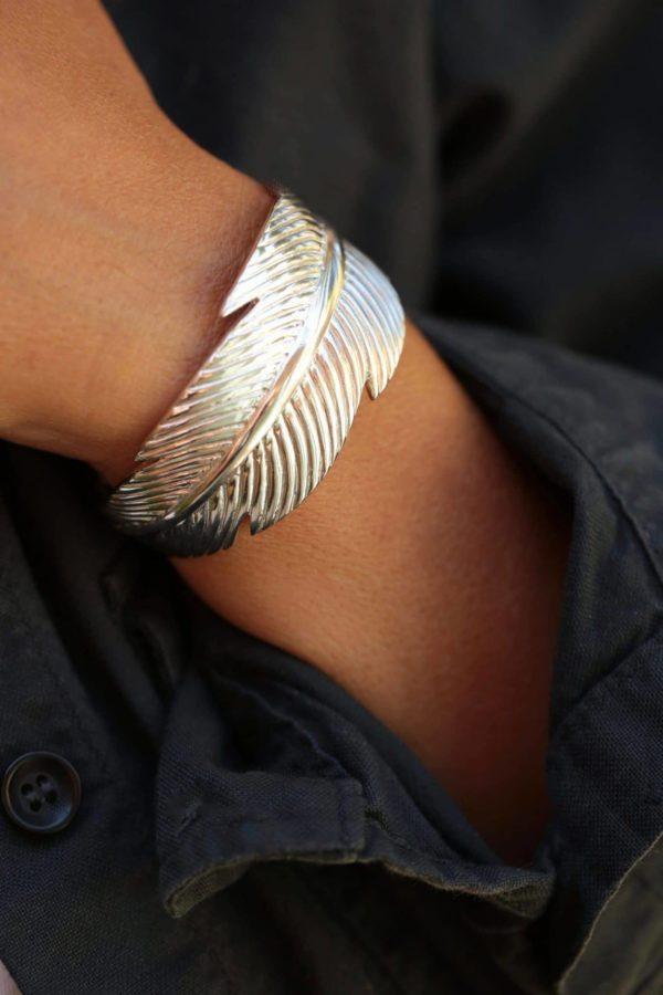 silvery-feather-wrist-cuff-2