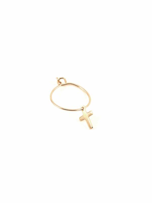 boucles-oreilles-creole- croix-plate-luj-paris-bijoux