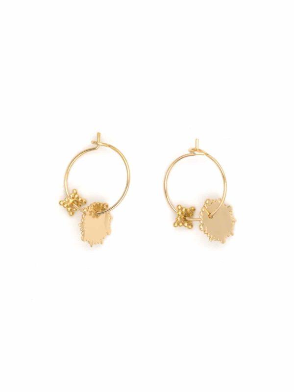 charmantes-double-hoop-earrings