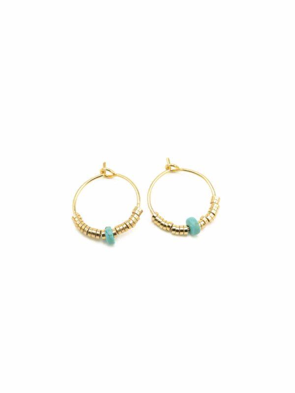 boucles-oreilles-creoles- turquoise-josephine-luj-paris-bijoux