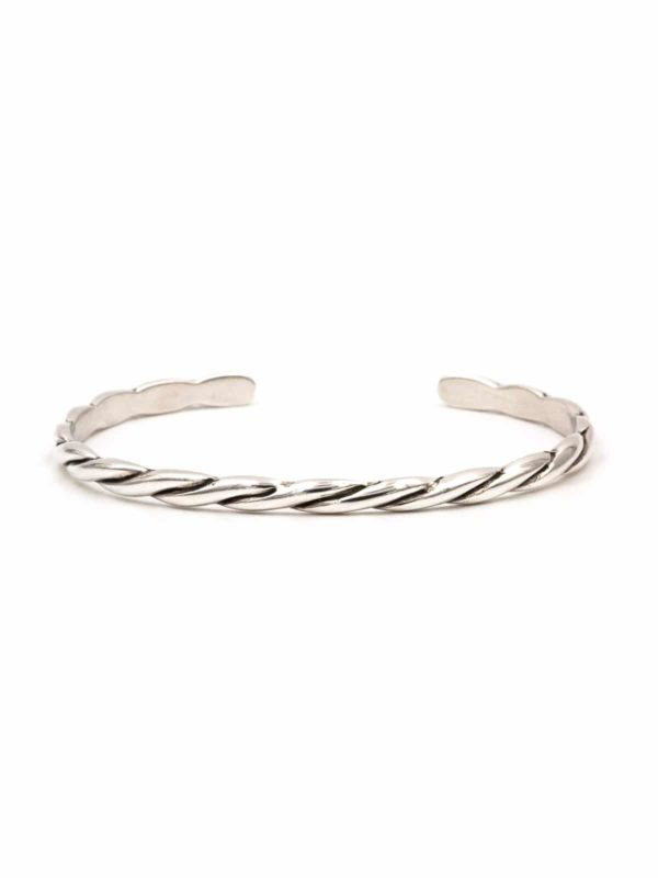 madeleine-silvery-braid-cuff-bangle
