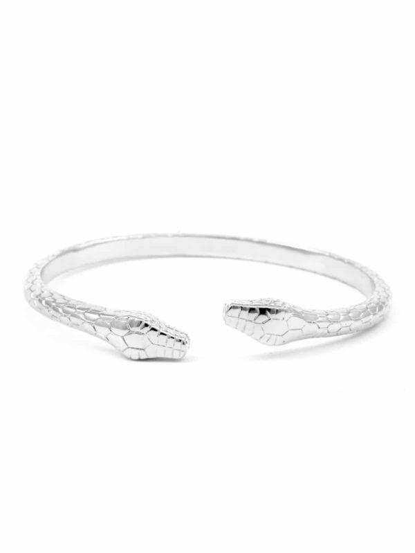 vicky-silvery-bracelet-double-head-snake