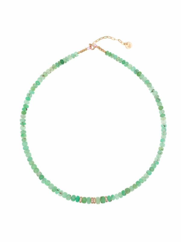 Aventurine choker and Celia strass