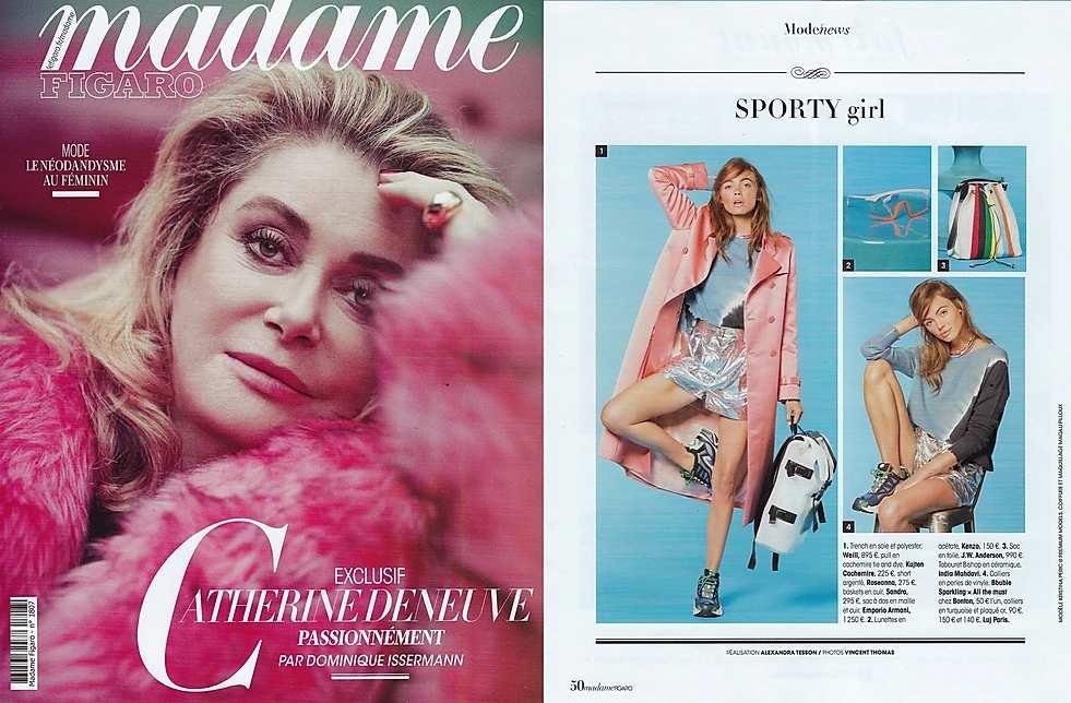 madame-figaro-parution-luj-paris--collier-ras-de-cou-rondelle-turquoise-et-or