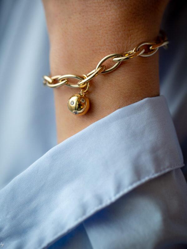 Bracelet Charm Ava 3 Luj Paris Bijou