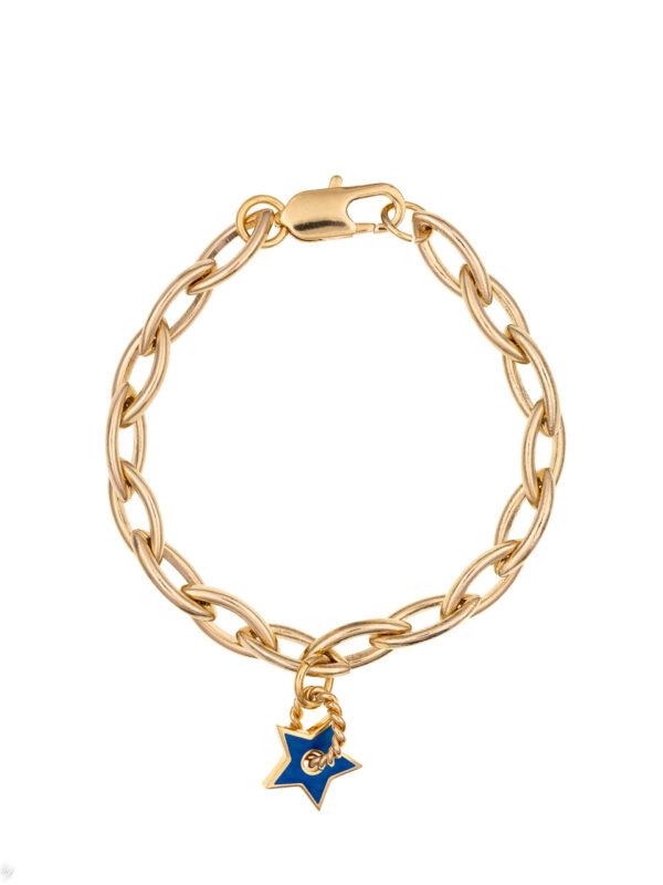 Bracelet Charm Etoile Emaille Eva Luj Paris Bijou