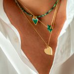 collier pendentif coeur amour luj paris bijou
