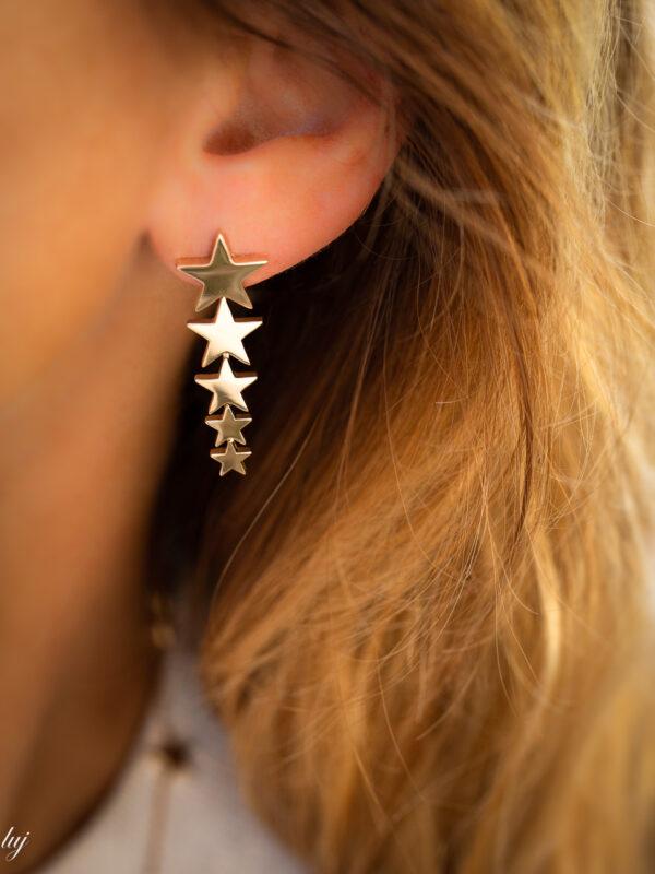 Greta shooting star earrings 1