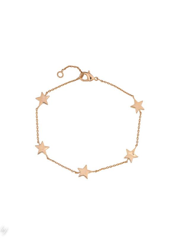 bracelet fin etoile greta luj paris bijou