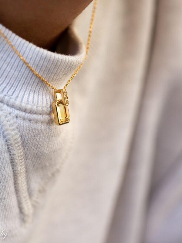 hedy citrine necklace 1